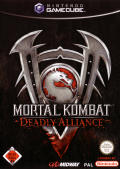 Mortal Kombat: Deadly Alliance GameCube Front Cover