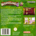 Warioland 4 Game Boy Advance Back Cover