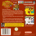 The Legend of Zelda: Oracle of Seasons Game Boy Color Back Cover