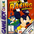 Mickey's Racing Adventure Game Boy Color Front Cover