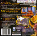 Tim Burton's The Nightmare Before Christmas: The Pumpkin King Game Boy Advance Back Cover