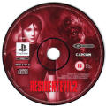 Resident Evil 2 PlayStation Media Disc 2 (Clair's Disc)