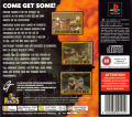 Duke Nukem 3D PlayStation Back Cover