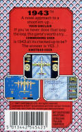 1943: The Battle of Midway Commodore 64 Back Cover