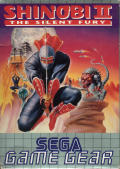 Shinobi II: The Silent Fury Game Gear Front Cover