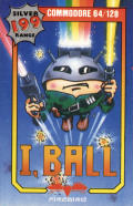I,Ball Commodore 64 Front Cover