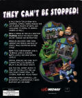 Rampage World Tour Windows Back Cover
