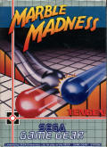 Marble Madness Game Gear Front Cover