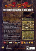 Jagged Alliance 2: Wildfire Windows Back Cover