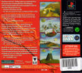 Magic Carpet PlayStation Back Cover