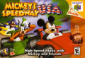 Mickey's Speedway USA  Nintendo 64 Front Cover