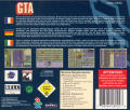 Grand Theft Auto DOS Other Jewel Case - Back