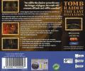 Tomb Raider: The Last Revelation Dreamcast Back Cover