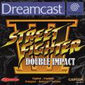 Street Fighter III: Double Impact Dreamcast Front Cover