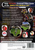 2002 FIFA World Cup PlayStation 2 Back Cover