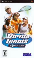Virtua Tennis: World Tour PSP Front Cover