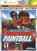 Greg Hastings' Tournament Paintball Xbox Front Cover