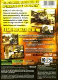 Delta Force: Black Hawk Down Xbox Back Cover