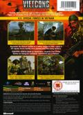 Vietcong: Purple Haze Xbox Back Cover