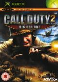 Call of Duty 2: Big Red One Xbox Front Cover