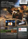 Call of Duty 2: Big Red One Xbox Back Cover