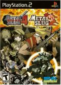 Metal Slug 4 & 5 PlayStation 2 Front Cover