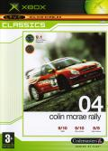 Colin McRae Rally 04 Xbox Front Cover