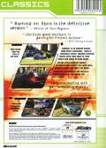 Burnout Xbox Back Cover
