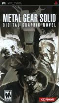 Metal Gear Solid: Digital Graphic Novel PSP Front Cover