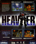 Heavy Gear II Linux Back Cover