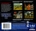 Heavy Gear II Linux Other Jewel Case - Back