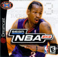 NBA 2K2 Dreamcast Front Cover