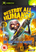 Destroy All Humans! Xbox Front Cover