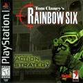 Tom Clancy's Rainbow Six PlayStation Front Cover
