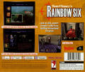 Tom Clancy's Rainbow Six PlayStation Back Cover
