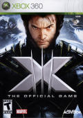 X-Men: The Official Game Xbox 360 Front Cover