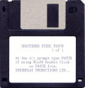 Shattered Steel DOS Media Patch Disc