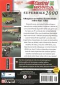 Castrol Honda Superbike 2000 Windows Back Cover
