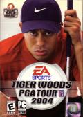 Tiger Woods PGA Tour 2004 Windows Front Cover