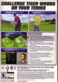 Tiger Woods PGA Tour 2005 Windows Back Cover