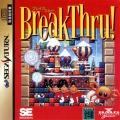 BreakThru! SEGA Saturn Front Cover