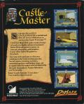 Castle Master Atari ST Back Cover