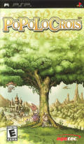 PoPoLoCrois PSP Front Cover