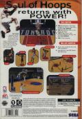 NBA Live 98 SEGA Saturn Back Cover