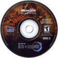 Rise of Nations: Rise of Legends Windows Media Disc 2