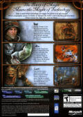 Rise of Nations: Rise of Legends Windows Back Cover