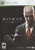 Hitman: Blood Money Xbox 360 Front Cover