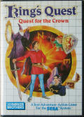 King's Quest SEGA Master System Front Cover