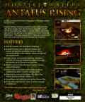 Hostile Waters: Antaeus Rising Windows Back Cover