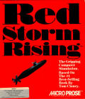 Red Storm Rising Amiga Front Cover